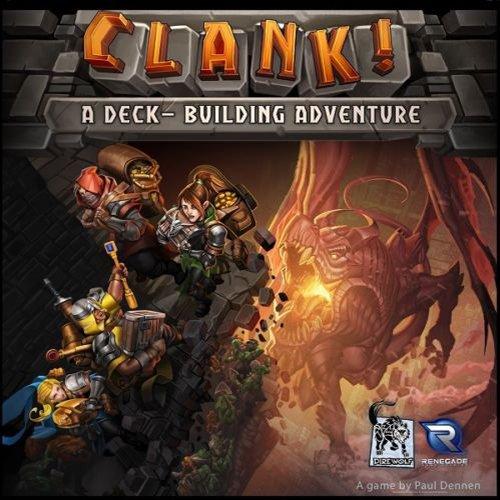 Clank!: A Deck-Building Adventure  (Lingua: Inglese - Stato: Nuovo)