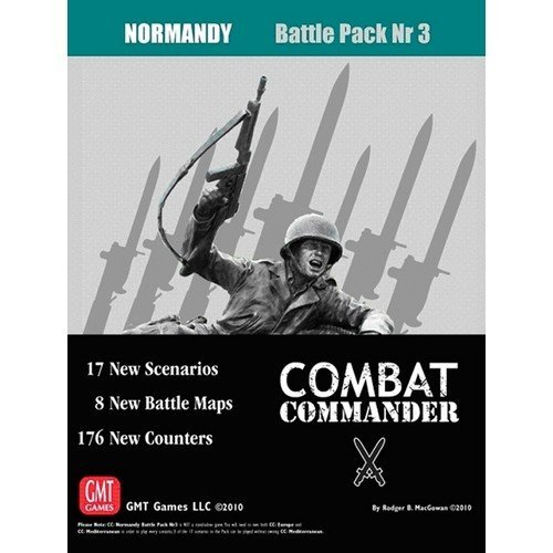 Combat Commander: Battle Pack 3, Normandy  (Lingua: Inglese - Stato: Nuovo)