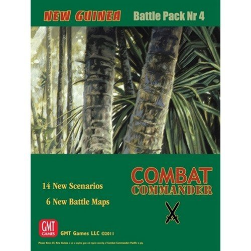 Combat Commander: Battle Pack 4, New Guinea  (Lingua: Inglese - Stato: Nuovo)