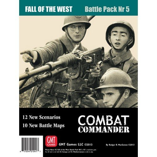 Combat Commander: Battle Pack 5, Fall of the West  (Lingua: Inglese - Stato: Nuovo)