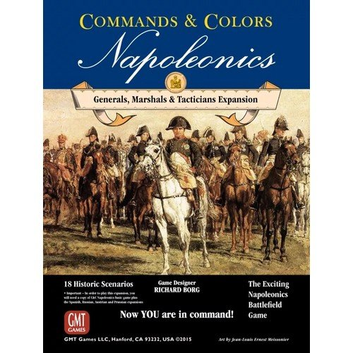 Commands & Colors: Napoleonics, Expansion Nr. 5, Generals, Marshals & Tacticians  (Lingua: Inglese - Stato: Nuovo)