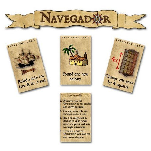 Concordia: 8 Forum Cards + Navegador: Privilege Cards  (Lingua: Inglese, Tedesco - Stato: Nuovo)