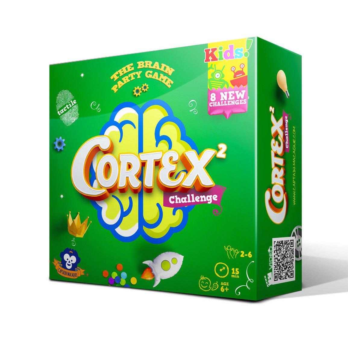 Cortex Challenge Kids 2  (Lingua: Italiano, Inglese, Francese, Tedesco, Olandese, Spagnolo - Stato: Nuovo)