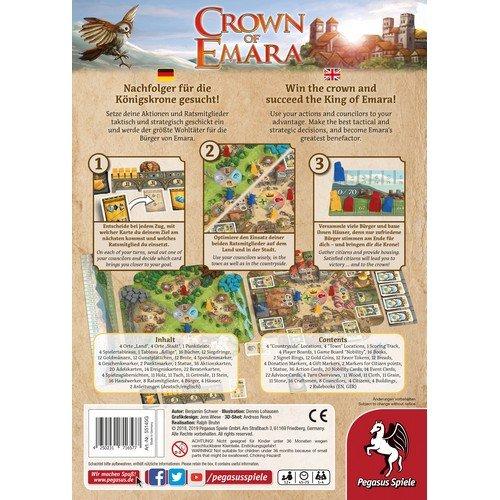 Crown of Emara  (Lingua: Inglese, Tedesco - Stato: Nuovo con Scatola Danneggiata)