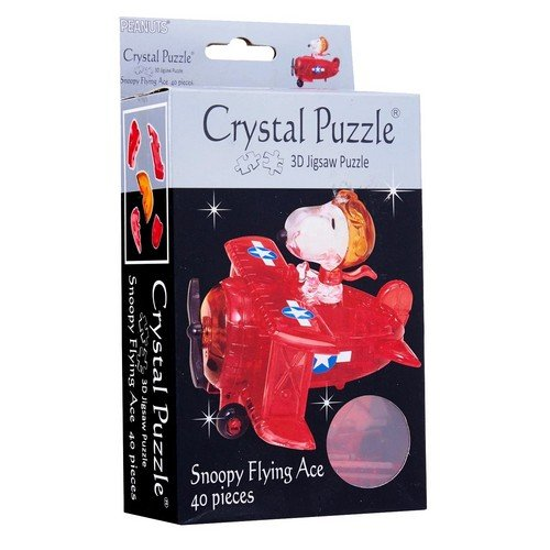 Crystal Puzzle: Snoopy Flying Ace  (Lingua: Inglese - Stato: Nuovo)