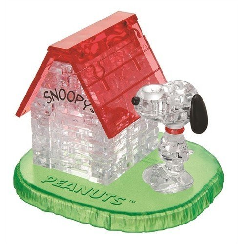 Crystal Puzzle: Snoopy House  (Lingua: Inglese - Stato: Nuovo)