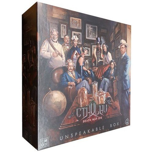 Cthulhu, Death May Die: Unspeakable Box  (Lingua: Inglese - Stato: Nuovo)