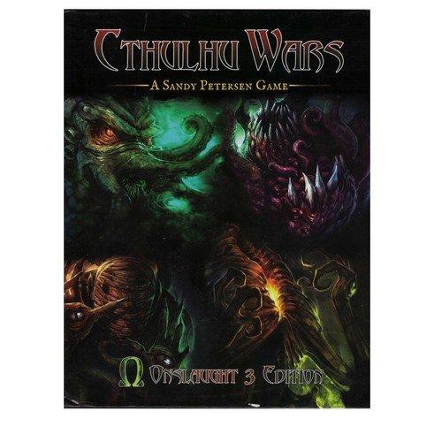 Cthulhu Wars Onslaught 3 Edition Regolamento  (Lingua: Inglese - Stato: Danneggiato)