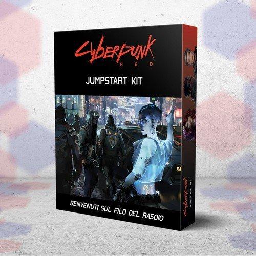 Cyberpunk Red Jumpstart Kit  (Language: Italian - Conditions: New)