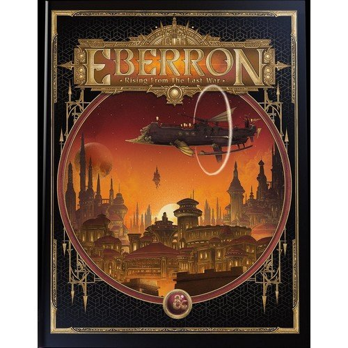 D&D - Eberron: Rising From the Last War Adventure Book (Alternate Cover) - ENG  (Language: English - Conditions: New)
