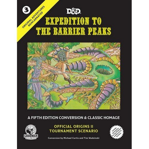 D&D - Expedition to the Barrier Peaks - ENG  (Lingua: Inglese - Stato: Nuovo)