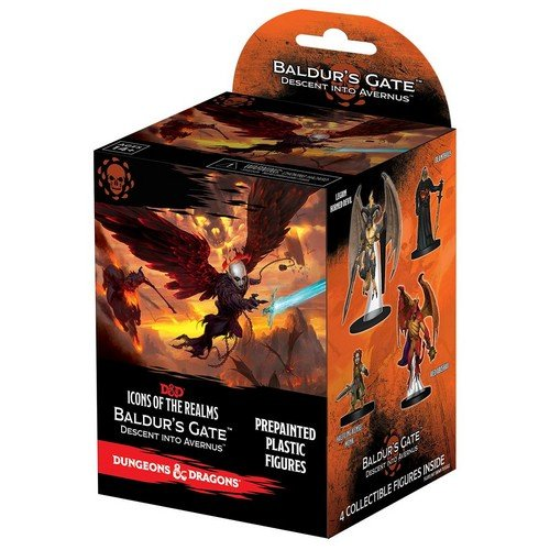D&D - Icons of the Realms, Baldur's Gate Descent into Avernus Booster Brick Case  (Conditions: New)
