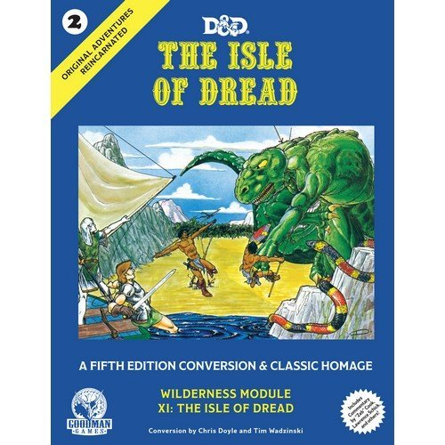D&D - The Isle of Dread 5th Edition Conversion - ENG  (Lingua: Inglese - Stato: Nuovo)