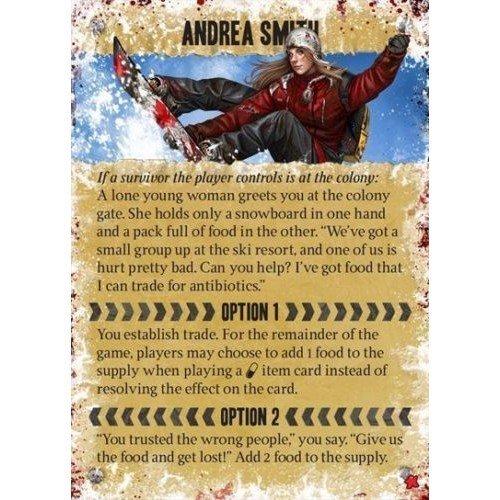Dead of Winter Andrea Smith Carta Promo  (Lingua: Inglese - Stato: Nuovo)