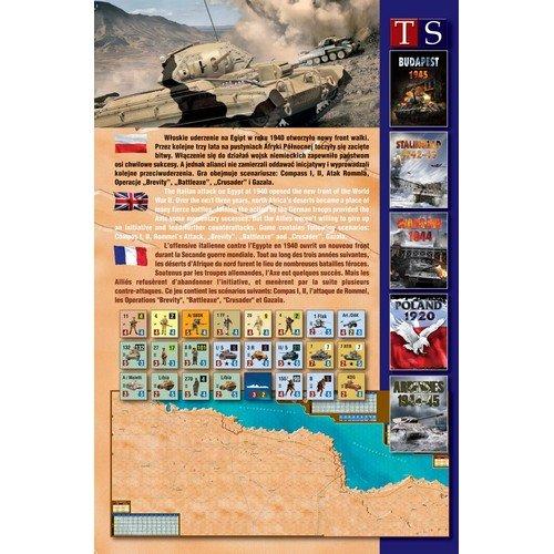Desert Rats 1940-42  (Lingua: Inglese, Francese, Polacco - Stato: Nuovo)