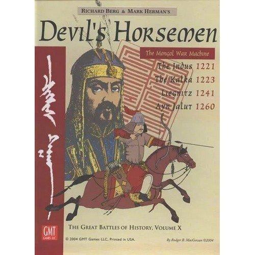 Devil's Horsemen  (Lingua: Inglese - Stato: Nuovo con Scatola Danneggiata)