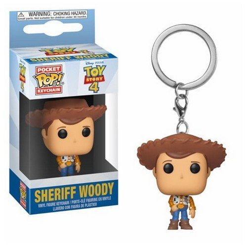 Disney Toy Story 4 Portachiavi Sheriff Woody  (Stato: Nuovo)