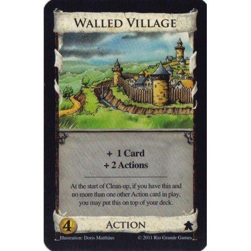 Dominion: Carta Promo Walled Village  (Lingua: Inglese - Stato: Nuovo)