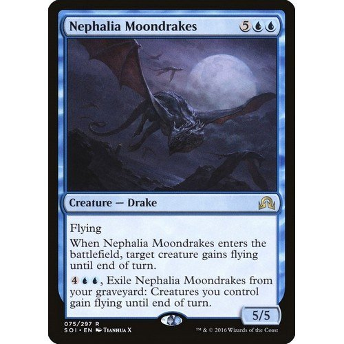 Draghetti Lunari di Nephalia  (Lingua: Inglese - Stato: Near Mint)