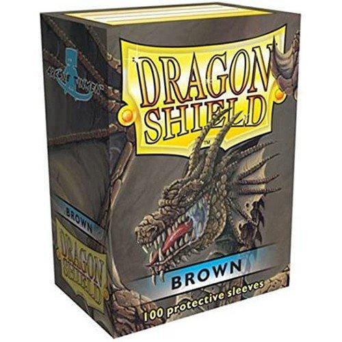 Dragon Shield Standard Sleeves - Brown (100 Sleeves)  (Stato: Nuovo)