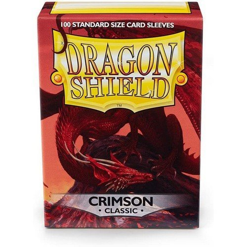 Dragon Shield Standard Sleeves - Crimson (100 Sleeves)  (Stato: Nuovo)