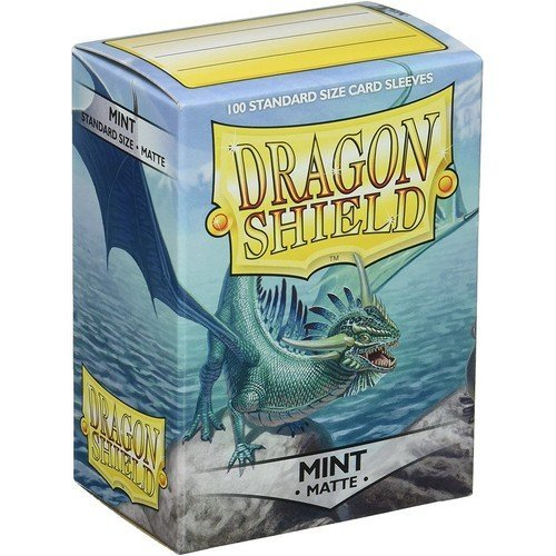 Dragon Shield Standard Sleeves - Matte Mint (100 Sleeves)  (Stato: Nuovo)