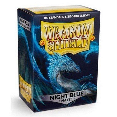 Dragon Shield Standard Sleeves - Matte Night Blue (100 Sleeves)  (Stato: Nuovo)