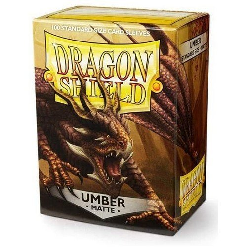 Dragon Shield Standard Sleeves - Matte Umber (100 Sleeves)  (Stato: Nuovo)