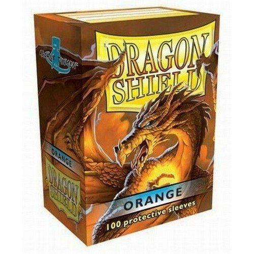 Dragon Shield Standard Sleeves - Orange (100 Sleeves)  (Stato: Nuovo)