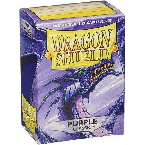 Dragon Shield Standard Sleeves - Purple (100 Sleeves)  (Stato: Nuovo)