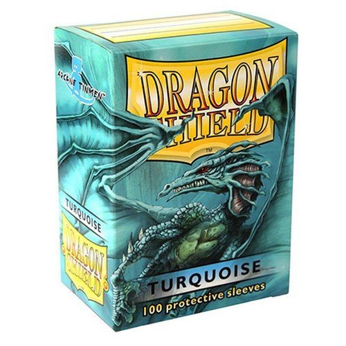 Dragon Shield Standard Sleeves - Turquoise (100 Sleeves)  (Stato: Nuovo)