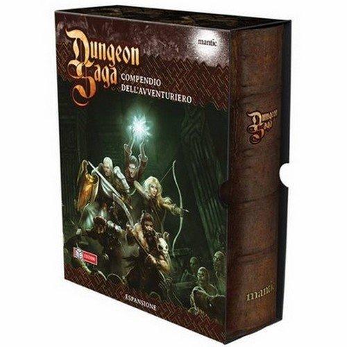 Dungeon Saga: Compendio dell'Avventuriero  (Lingua: Italiano - Stato: Usato)