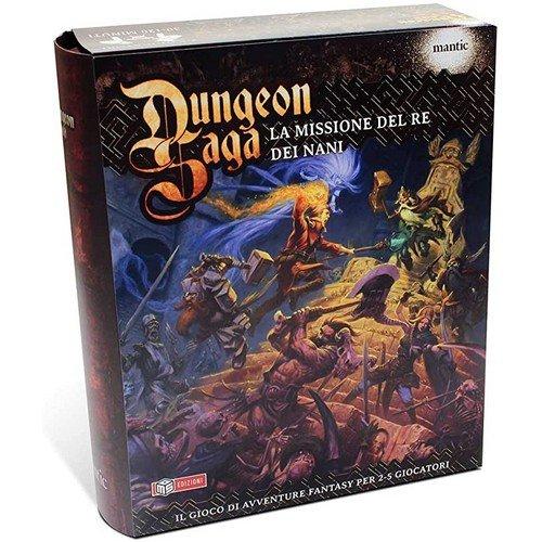 Dungeon Saga: La Missione del Re dei Nani  (Lingua: Italiano - Stato: Usato)