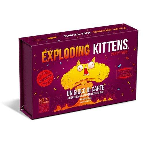 Exploding Kittens Party Pack  (Lingua: Italiano - Stato: Nuovo)
