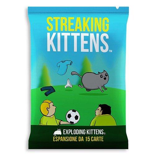 Exploding Kittens, Streaking Kittens  (Lingua: Italiano - Stato: Nuovo)