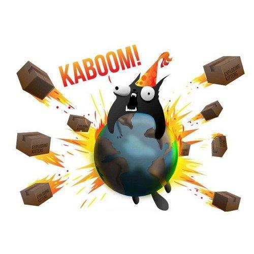 Exploding Kittens  (Lingua: Italiano - Stato: Nuovo)