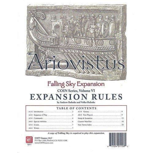 Falling Sky: The Gallic Revolt Against Caesar, Ariovistus  (Lingua: Inglese - Stato: Nuovo)