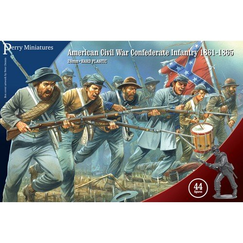Fanteria Confederata della Guerra Civile Americana 1861-65  (Lingua: Inglese - Stato: Nuovo)
