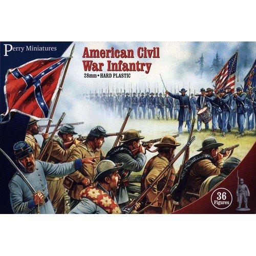 Fanteria della Guerra Civile Americana  (Lingua: Inglese - Stato: Nuovo)