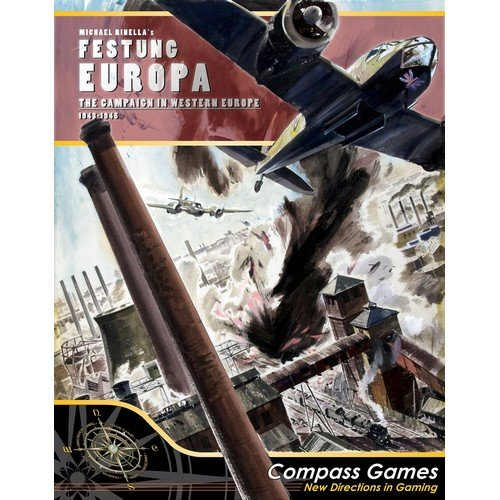 Festung Europa: The Campaign for Western Europe, 1943-1945  (Lingua: Inglese - Stato: Nuovo)