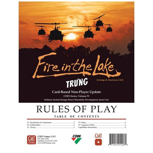 Fire in the Lake, Tru'ng Bot Update Pack  (Lingua: Inglese - Stato: Nuovo)