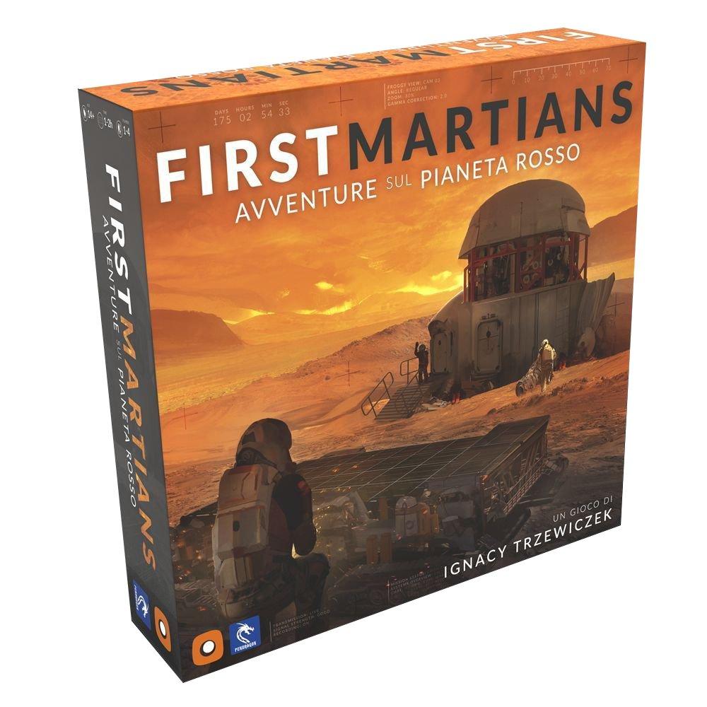 First Martians: Avventure sul Pianeta Rosso - ITA  (Lingua: Italiano - Stato: Nuovo)