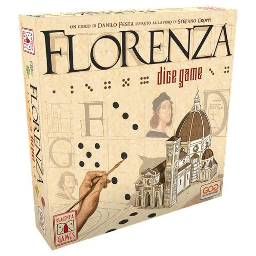 Florenza Dice Game  (Lingua: Italiano - Stato: Nuovo)