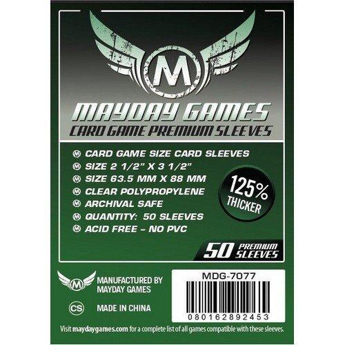 Foderine Mayday Games 63,5 x 88 mm PREMIUM (50 pz)  (Stato: Nuovo)