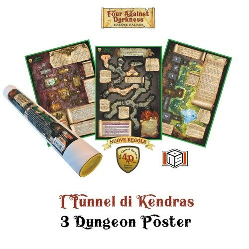 Four Against Darkness: I Tunnel di Kendras  (Lingua: Italiano - Stato: Nuovo)