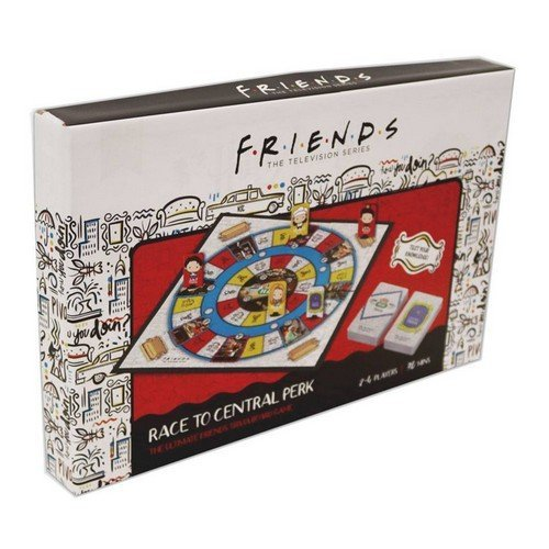 Friends Board Game Trivia Race To Central Perk ENG  (Lingua: Inglese - Stato: Nuovo)