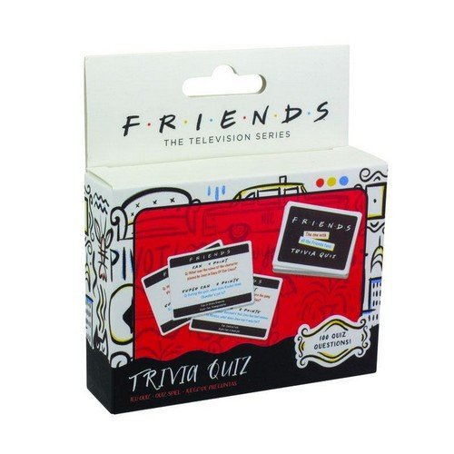 Friends Card Game Trivia Quiz ENG  (Lingua: Inglese - Stato: Nuovo)