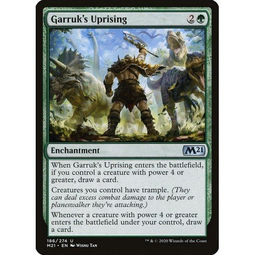 Garruk's Uprising  (Language: English - Conditions: Near Mint)