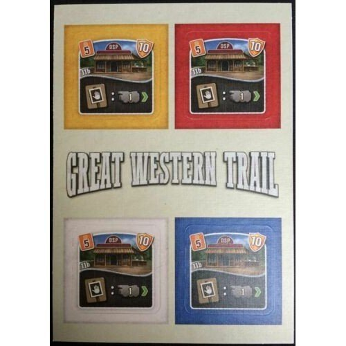 Great Western Trail: The Eleventh Building Tile  (Lingua: Inglese, Tedesco - Stato: Nuovo)