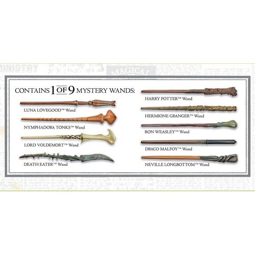 Harry Potter Mystery Wands 30 cm Display 9 Bacchette  (Stato: Nuovo)